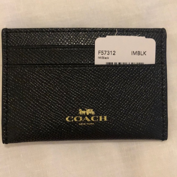 Coach Accessories - Still available! - Black Coach Card Holder